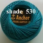 1 ANCHOR Pearl Cotton 8 Crochet Embroidery Thread Ball 1 Flat/Free Postage on 10