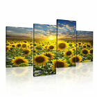 LANDSCAPE Country 1 Canvas 4A-RH Framed Printed Wall Art ~ 4 Panels