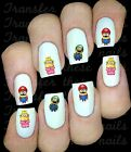 30 DESPICABLE ME MINION MARIO NAIL ART DECALS STICKERS TRANSFERS PARTY FAVORS