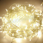 10/50/100M LED String Lights Tree Fairy Light Lighting Christmas Party Garden