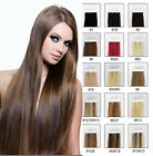 """Full Head 16""""-26"""" 20 piece Tape-In 100% Real Remy Human Hair Extensions straight"""