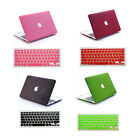 """2in1 Quicksand Hard Matte Case + Key Cover for Macbook AIR 11""""13/ PRO 13""""15""""inch"""