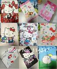 Lovely Disney Kitty Cartoon Leather Case for Verizon Ellipsis 7 Inch RCA Tablet