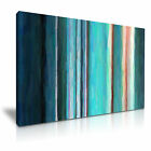 MODERN ABSTRACT ART Stripes Canvas Framed Print ~ More Size