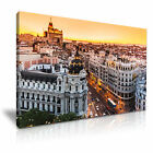 CITYSCAPE Europe Spain 4 1L Canvas Framed Printed Wall Art ~ More Size