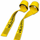 VELO Padded Weight Lifting Training Gym Straps Hand Bar Wrist Support Gloves