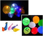 Hot LED Air Hellium Party Balloons Wedding Light up Deco 5/Pack Multicolor New