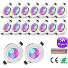 3W 5W LED Ceiling light Warm/Cool White Cree Down light Recessed Spotlight Lamp