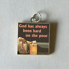 MARAT Reign of Terror French PENDANT or PIN art quote
