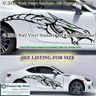 Car Stickers Dragon Graphic Tribal Butterfly Vinyl Decals Van Custom 2 x Large