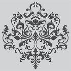 Damask wall stencil **Choose your size** Faux Mural Pattern