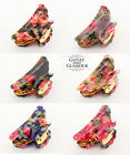 LARGE FLORAL FLOWER VINTAGE HAIR CLIP CLAW GRIP CLAW CLAMP BUTTERFLY CLIP CLAMP