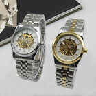 NEW Ladies Womens Hollow Wrist Watch automatic mechanical Stainless Steel band
