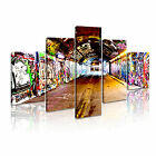 Graffiti  Subway 1 Canvas Framed Printed Wall Art ~ 5 Template