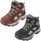 Childrens Hi-Tec Altitude Lite IV WP JR Suede Waterproof Lace Up Hiking Boots