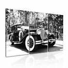 TRANSPORT Vehicle Car 11 Canvas 3A Framed Printed Wall Size ~ 3 Panels