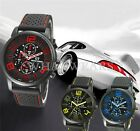 Luxury Fashion Steel Sport Mens Boys Wrist Watch Quartz Watches 6 Colors FKS