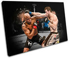MMA Forrest Griffin Sports SINGLE CANVAS WALL ART Picture Print VA