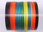 Multicolor PE Dyneema 1000M 6LB-100LB test Braid Fishing Line 1094 Yards Spectra