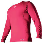 Precision Training Base-Layer Long Sleeve Crew-Neck Shirt Fluo Pink