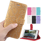 Leather Sparkle Bling Diamond Wallet Magnetic Cover Case for iPhone 6/ 6 Plus