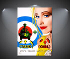 Tank Girl Vintage Movie Large Poster - A1, A2, A3, A4 sizes