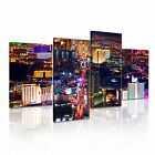 Las Vegas 12 USA American Citysacape 4R-RH Framed Print Canvas Wall Art~4 Panels