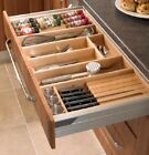 Wooden Cutlery Tray for Blum Tandembox, Intivo or Antaro Kitchen Drawers