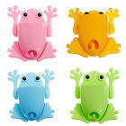 New Cute Frog Toothbrush Toothpaste Holder Suction Wall Mount Stuff Organizer