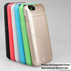 """3500mAh Backup Power bank External Charger Cover Battery Case for iphone 6 4.7"""""""
