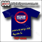 "Firefighting T Shirt ""HUAW Strike Team"" (Hurry Up And Wait)"