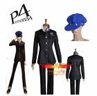 Shin Megami Tensei: Persona 4 P4 Cosplay Jacket And Hat For Uniform Costume