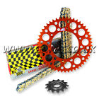 BRAND NEW KTM 450 EXC RACING Chain And Sprocket Set 2003-2015 REGINA RX3 RENTHAL