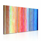 ART Abstract Illusions 33 Canvas 3A Framed Printed Wall Size ~ 3 Panels
