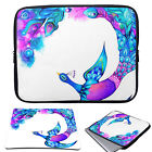 """Lovely 11-15.6"""" Laptop Soft Sleeve Case Bag Cover +Mouse Pad For MacBook Pro Air"""