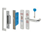 Radar Phlexicare Disabled Disability Toilet Door Lock Set Handles & Nation Key