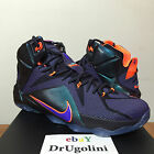 NIKE LEBRON XII 8-13 cave purple hyper grape crimson 684593-583. INSTINCT 12