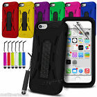 Heavy Duty Tough Stand Case Cover for iPhone 6 6S Plus 5 5S 4.7 5.5