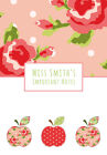 Apples Personalised Notebook Children's Girl's Boy's Gift Idea Various Sizes