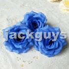 Wholesale Lots Rose Heads Artificial Silk Flower Party Wedding Arch Floral Decor