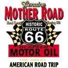 ROUTE 66 MOTHER ROAD MOTOR OIL T-SHIRT AMERICAN ROAD MUSCLE CAR NEW BIKER USA