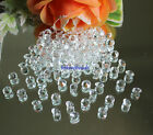 8mm 2CT Clear Acrylic Diamond Confetti Wedding Party Crystals Table Scatters