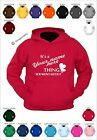 PRINTED HOODIE It's a your text thing you won't get it - surname thing