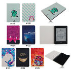 Owl PU Leather Slim Folio Case Cover For Amazon Kindle Paperwhite 1 2&3G Wifi