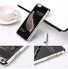 """3D Bling Love Wings Chrome Back Hard Case Cover For Apple iPhone 6 - 4.7"""" inch"""