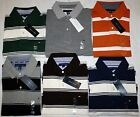 NWT Tommy Hilfiger Mens Classic Striped Polo Shirt S M L XL  $48.00 SALE
