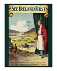 Ireland #3 - See Ireland First - Reproduction Vintage Travel Poster