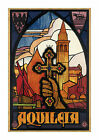 Aquiliea - Reproduction Vintage Italian Travel Poster