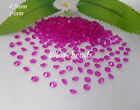 4.5mm 1/3CT Plum Acrylic Diamond Confetti Wedding Party Crystals Table Scatters