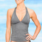 NEW ATHLETA Women's Swimsuit Heather Bettona Halter Tankini Top SIZE M MT A947